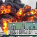 Hydroxychloroquine Factory on Fire After Explosion